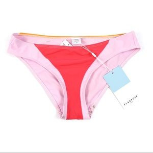 Flagpole Swim - Flagpole Celine Color Block Bikini Bottom M